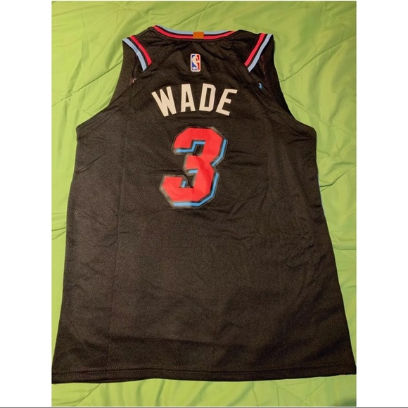 detailed look 6e675 68607 Dwayne Wade Miami Heat #3 Vice City Jersey